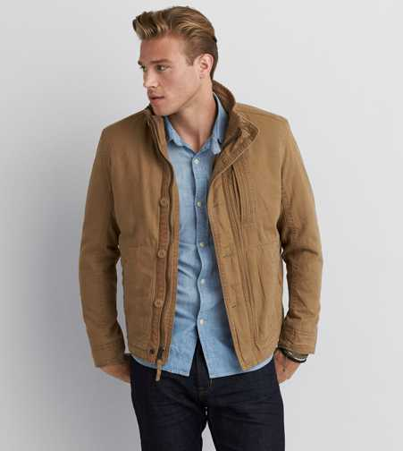AEO Mock Neck Workwear Jacket