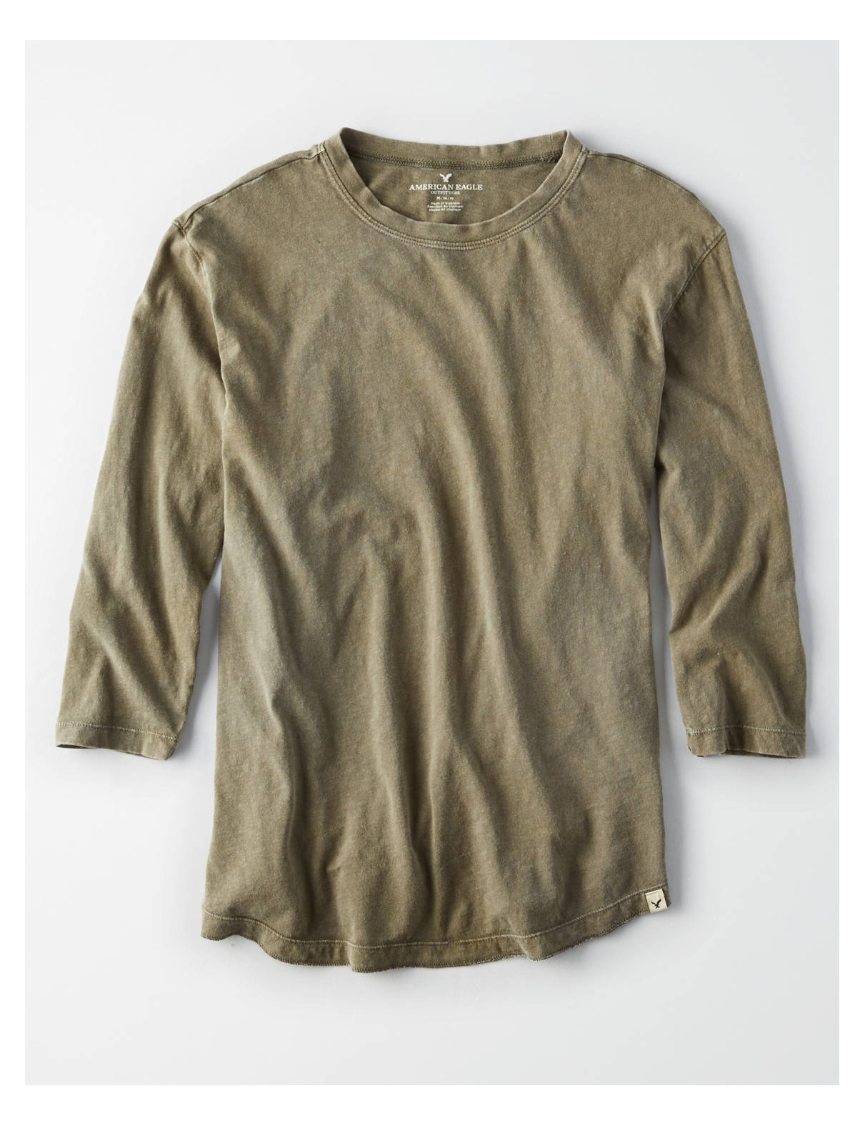 Display product reviews for AEO 3/4 Sleeve T-Shirt