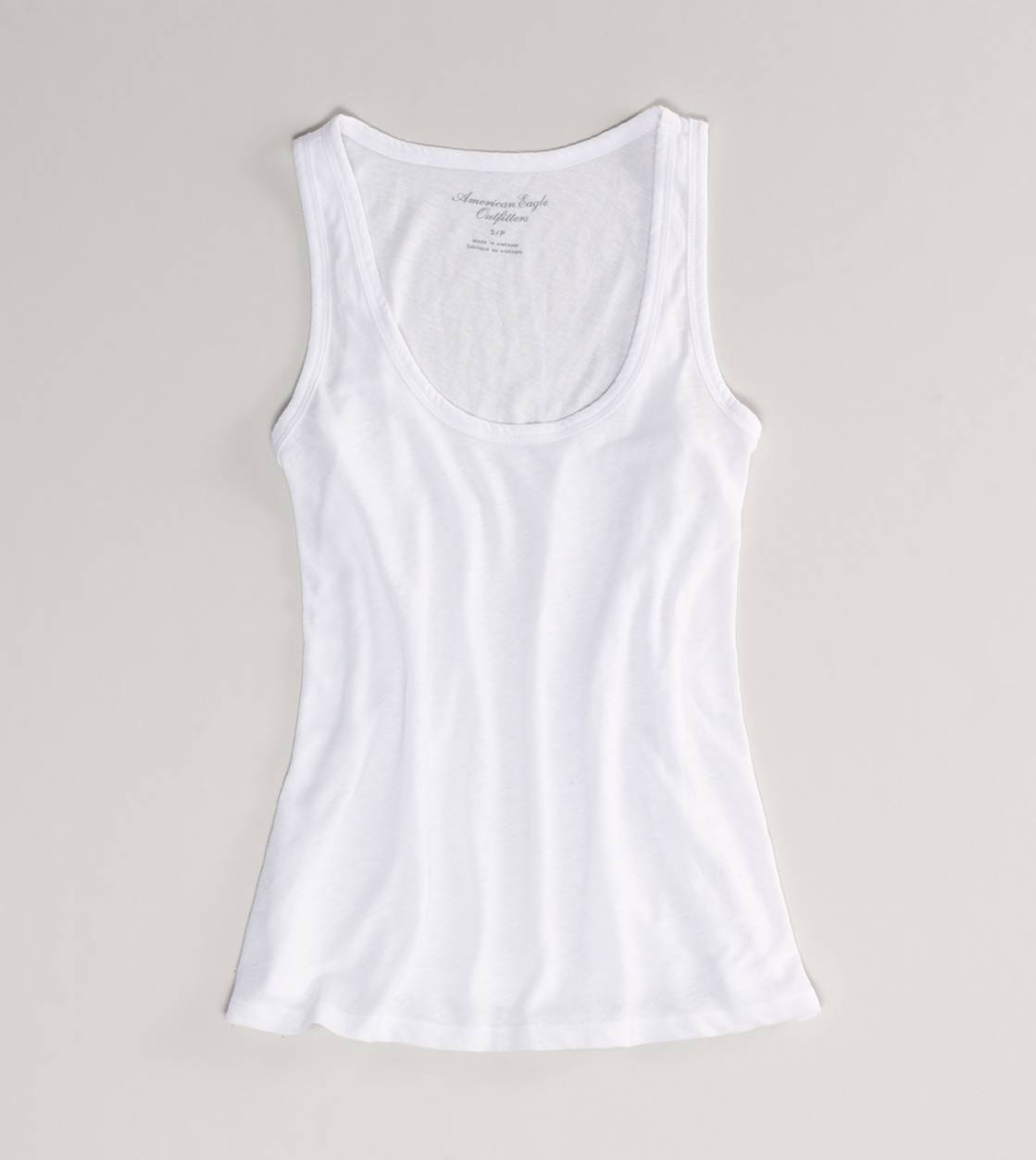 White  AE Every Wear Tank