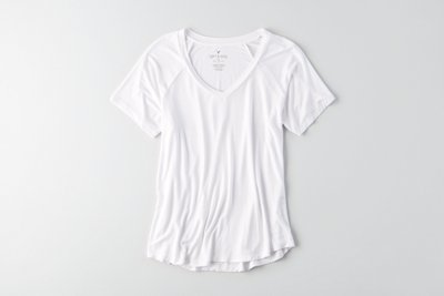 Soft & Sexy Ribbed Swing T-Shirt