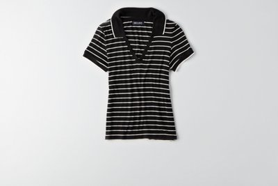 Soft & Sexy Ribbed Tipped Polo