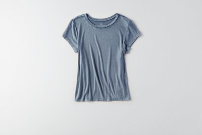 Soft & Sexy Ribbed Tomgirl T-Shirt
