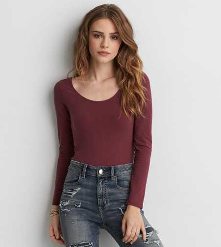 AEO Cross-Back Bodysuit