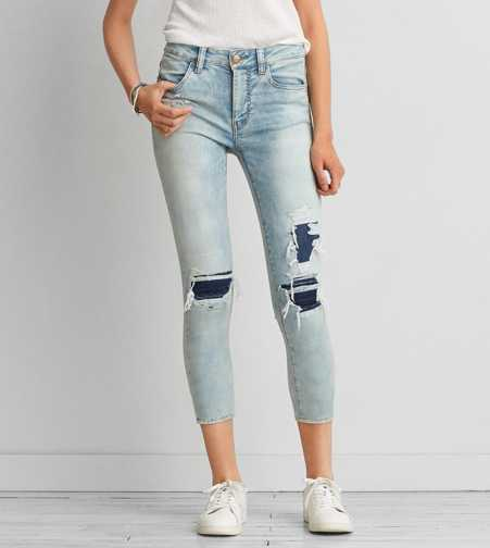 AEO Sateen X Hi-Rise Jegging Crop  - Buy One Get One 50% Off