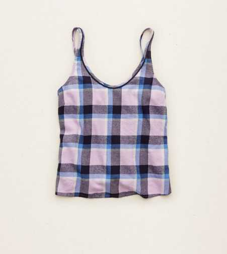 Aerie Plaid Sleep Tank