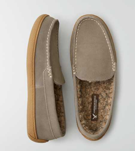 AEO Lined Moccasin