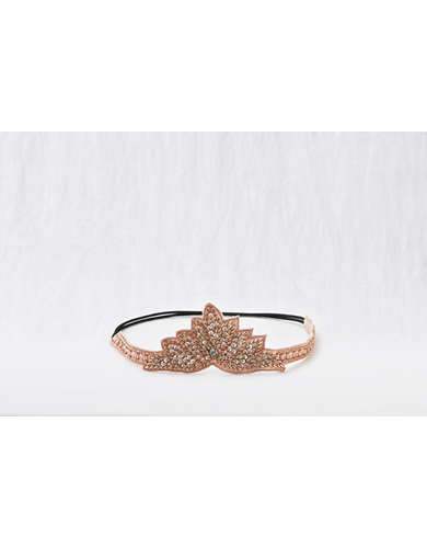 Aerie Jeweled Crown Headband  -