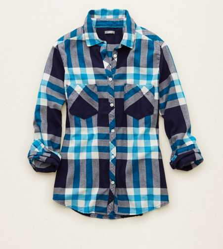 Aerie Cozy Flannel Sleep Shirt