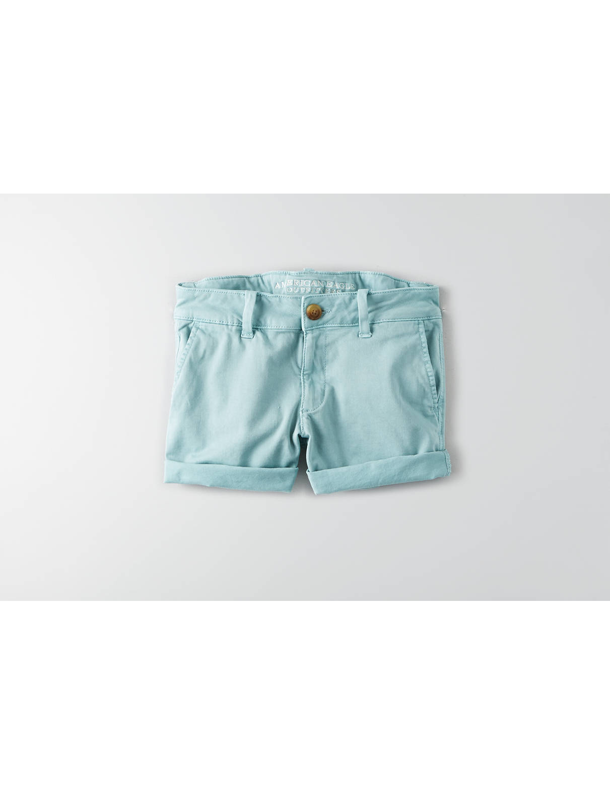 Display product reviews for AEO Twill X Midi Short