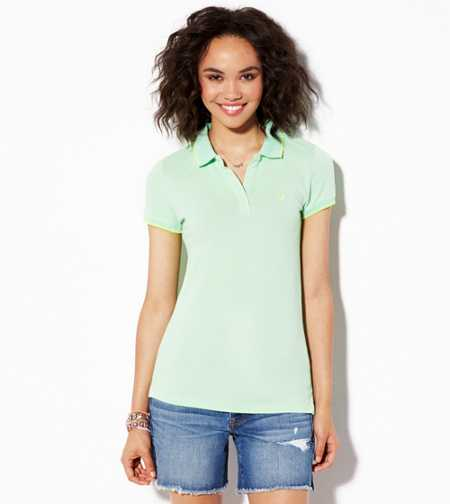 AE Short Sleeve Tipped Polo - Buy One Get One 50% Off