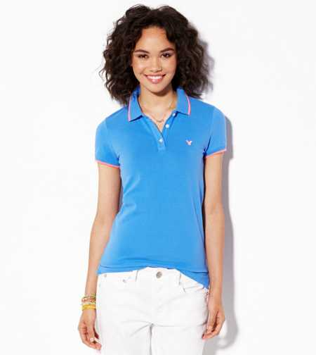 AE Short Sleeve Tipped Polo