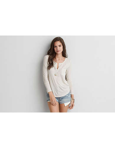 Womens Henley Shirt