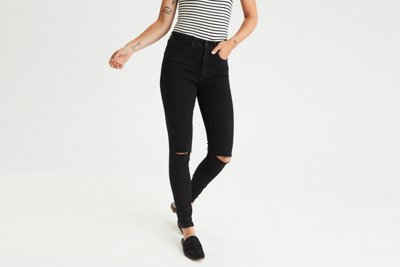 Jegging tiro superalto  Denim X