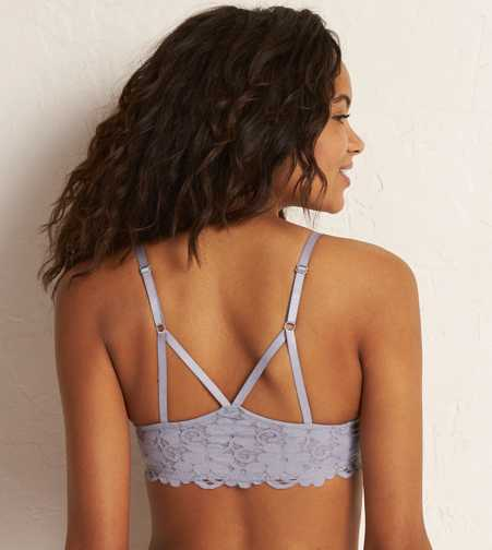 Brooke Lace Racerback Pushup Bra  - Free Shipping & Returns