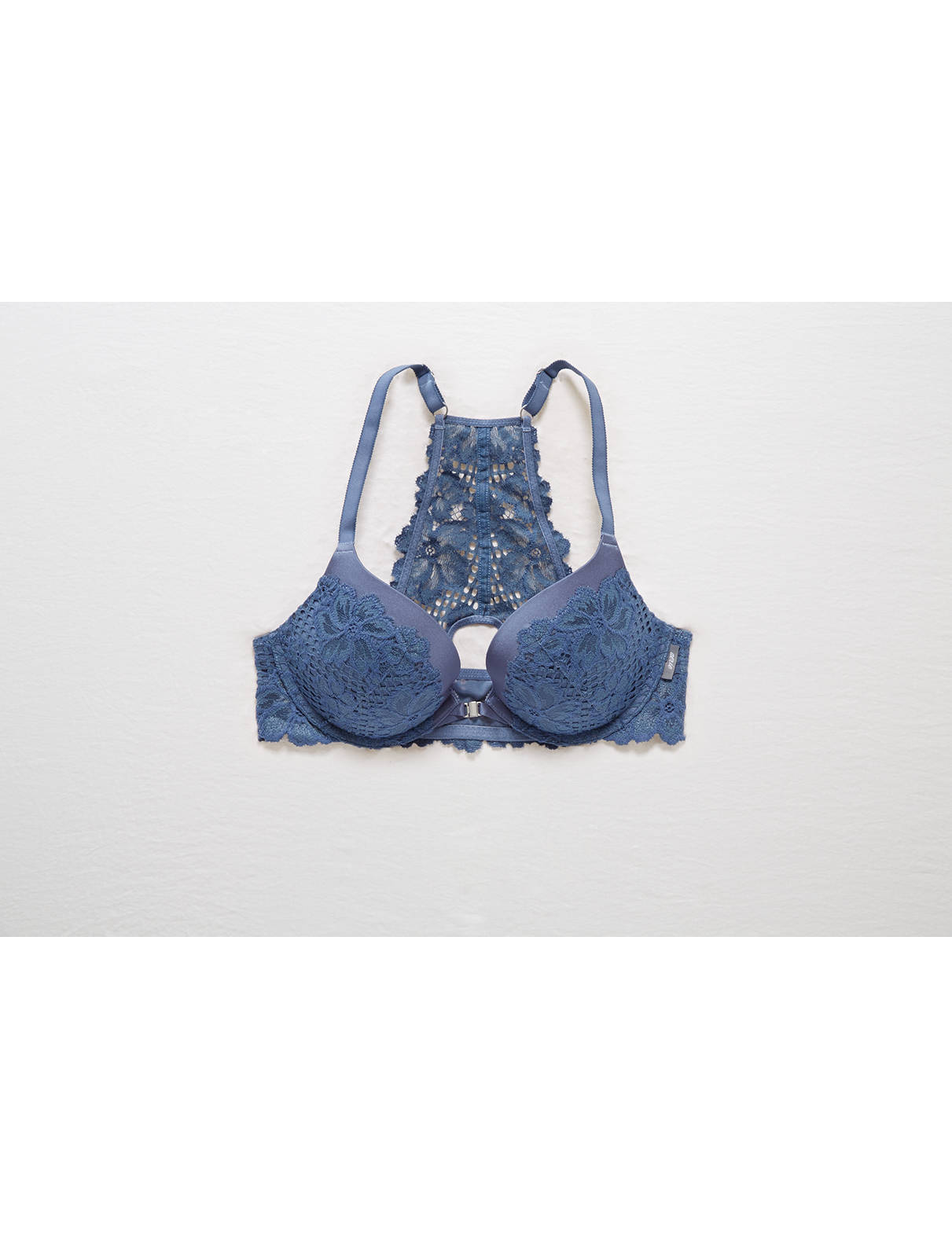 Display product reviews for Brooke Lace Racerback Pushup Bra