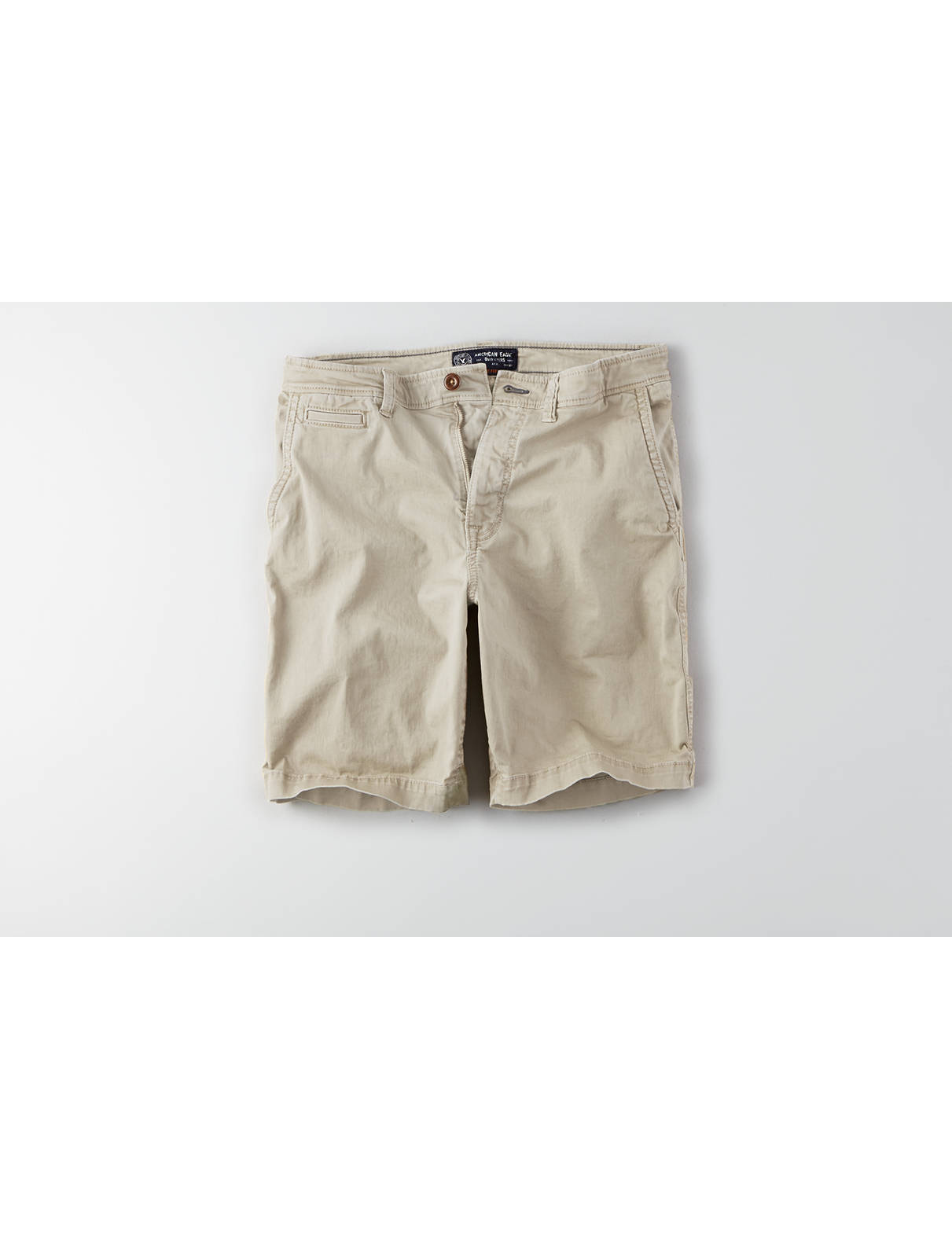 Display product reviews for AEO Active Flex Classic Flat Front Short