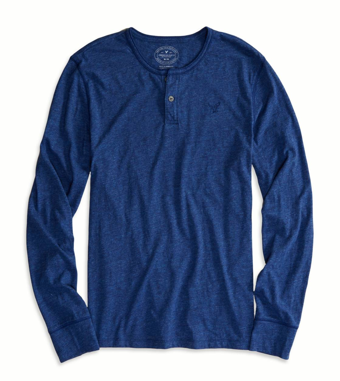 Indigo AE Legend Long Sleeve Henley