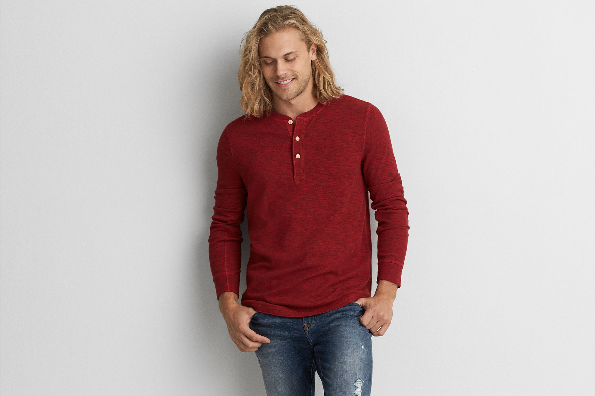 American Eagle - Active Thermal - Red