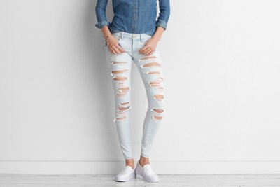 Denim X Super Low Jegging
