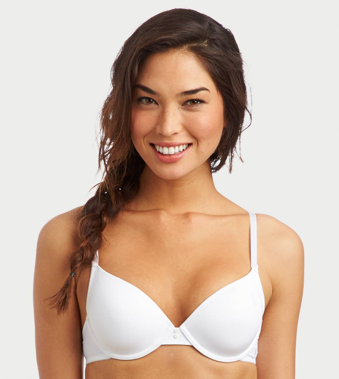 White  Katie Lightly Lined Bra