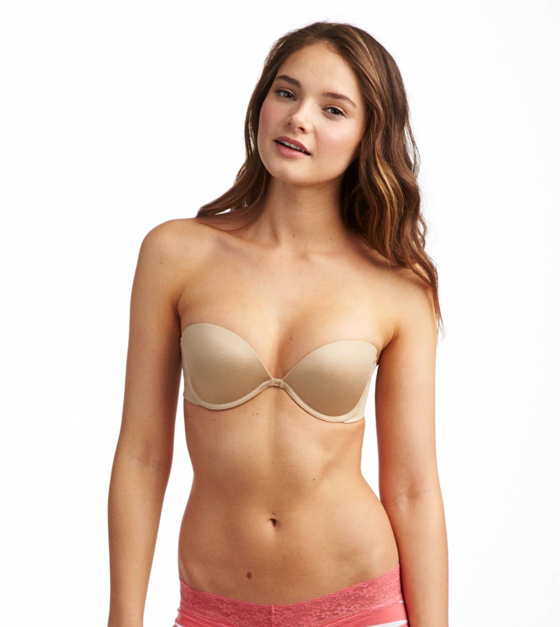 Dark Nude Abigail Multi-Way Pushup Bra