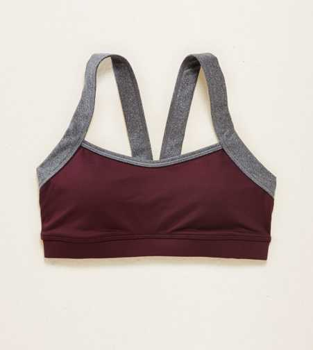 Aerie Lightly Lined V-Back Sports Bra