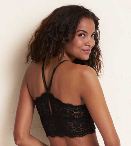 Aerie Romantic Lace Longline Bralette - Buy One Get One $5