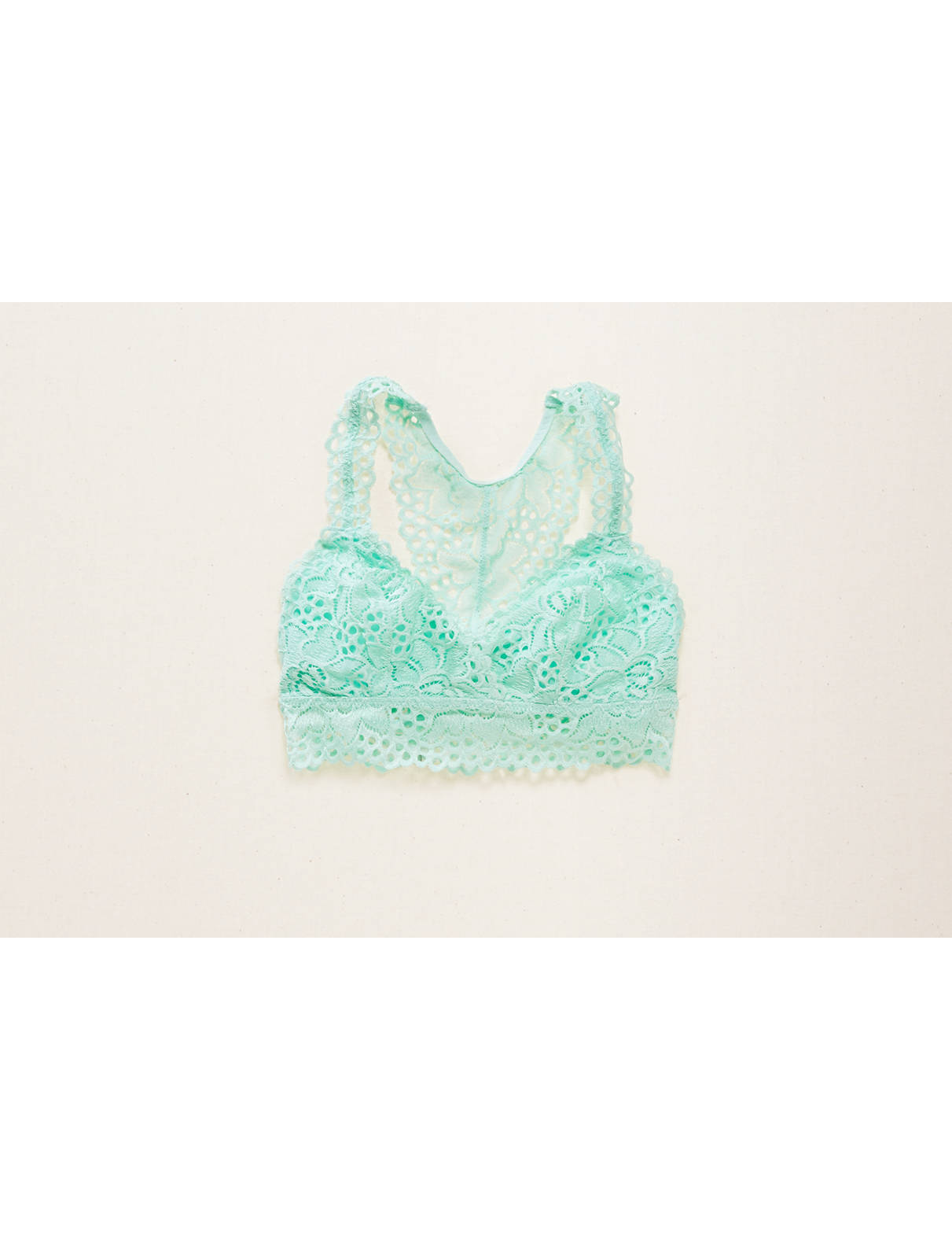 Display product reviews for Aerie Racerback Boho Bralette