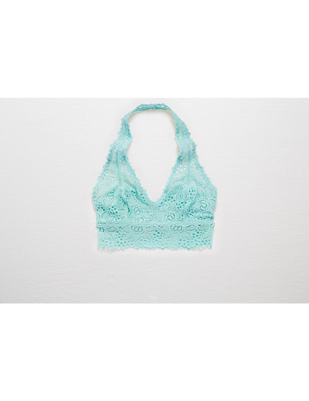 Display product reviews for Aerie Halter Boho Bralette