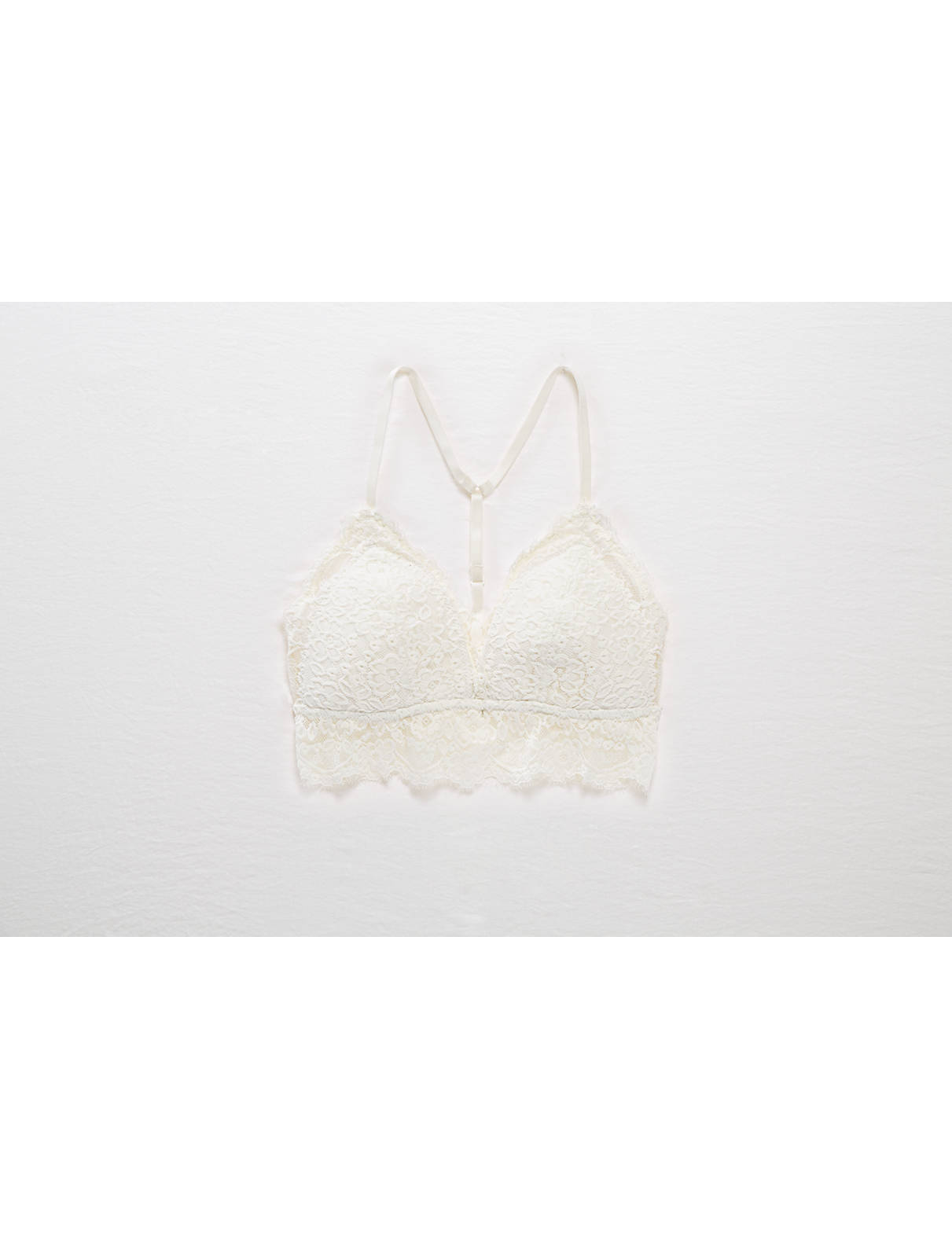 Display product reviews for Aerie Romantic Lace Padded Bralette
