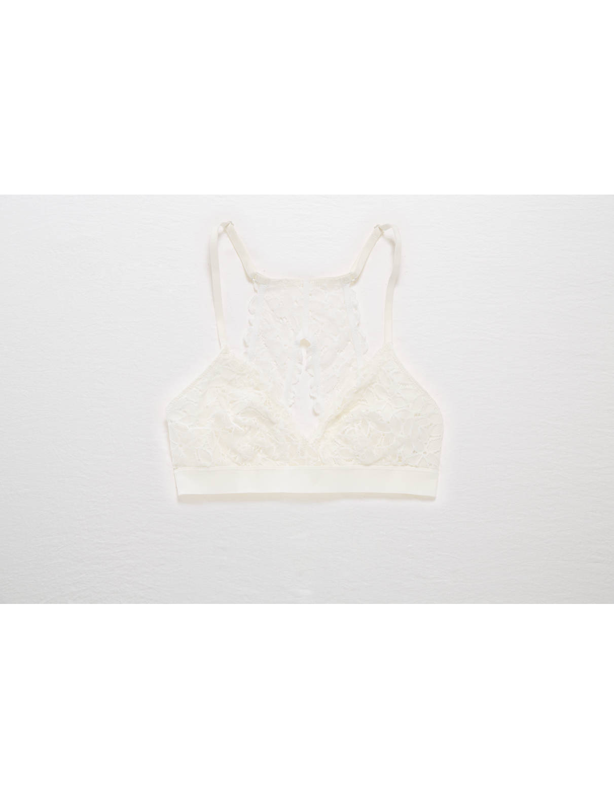 Display product reviews for Aerie Lace Keyhole Triangle Bralette