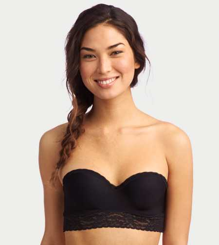 Daisy Hidden Wire Bandeau Bra - Free Shipping & Returns