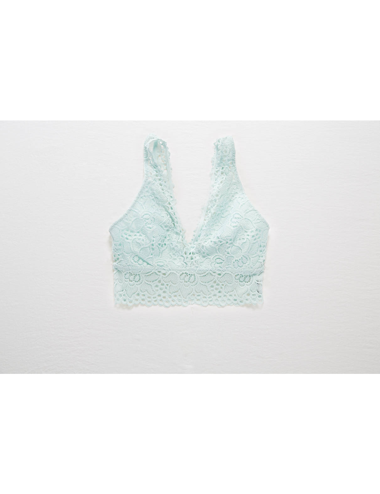 Display product reviews for Aerie Boho Plunge Bralette
