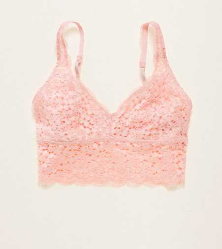 Aerie Lace Longline Bralette - Free Shipping & Returns