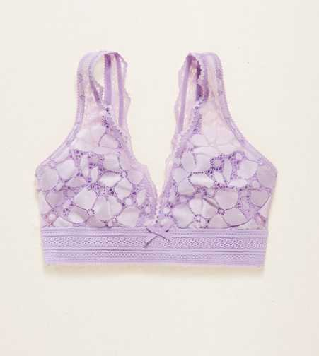 Aerie Lace Plunge Bralette - Free Shipping & Returns
