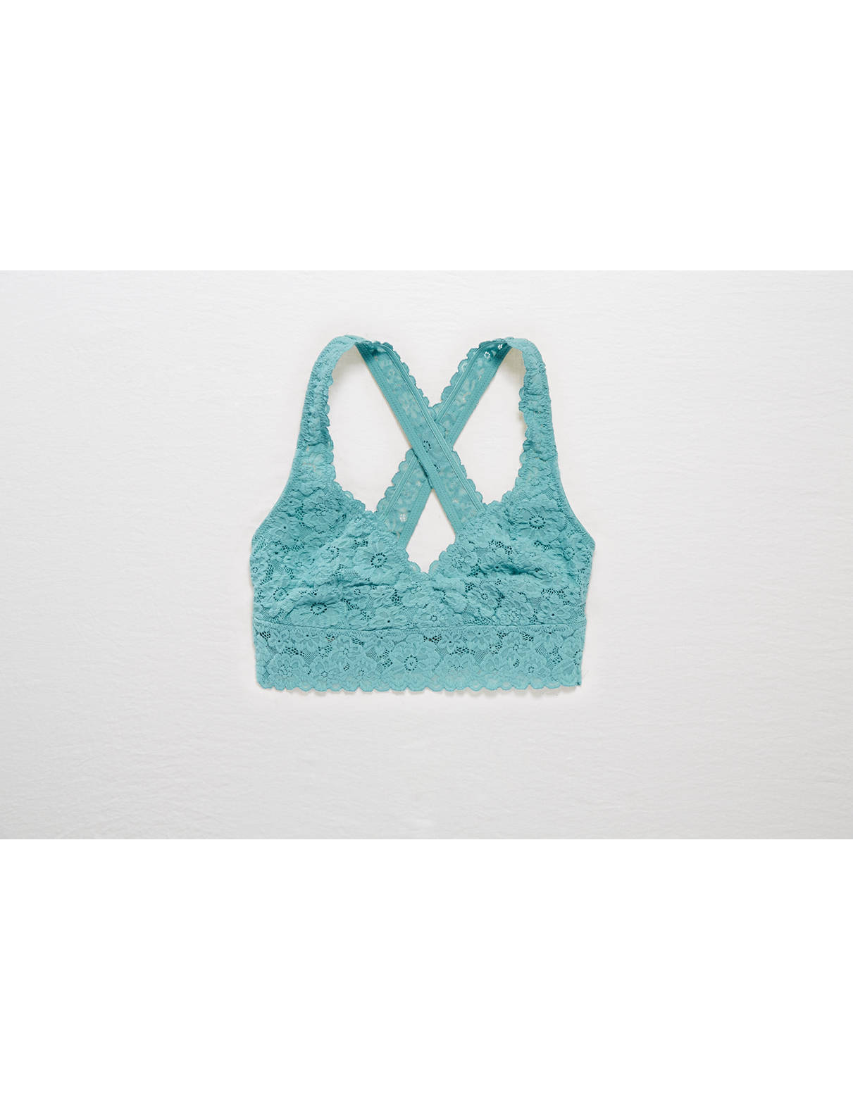 Display product reviews for Aerie Lace Cross-Back Bralette