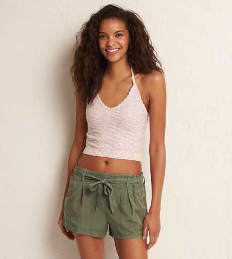 Aerie Sweater Crop Tank