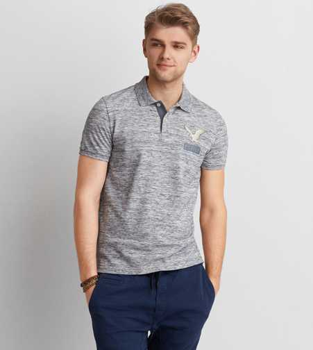 AEO Icon Pique Polo - Buy One Get One 50% Off