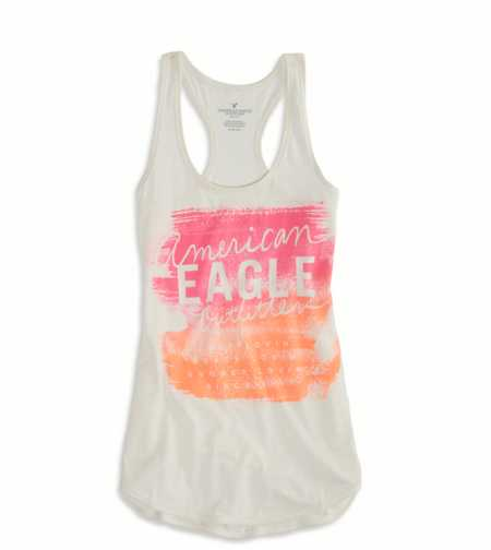 AE Graphic Racerback Tank - Buy One Get One 50% Off