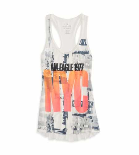 AE NYC Graphic Favorite Tank - Buy One Get One 50% Off