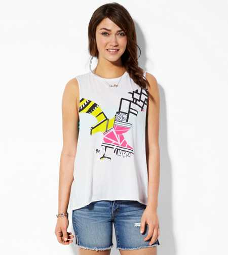 AE Heart This City Graphic Tank - Buy One Get One 50% Off