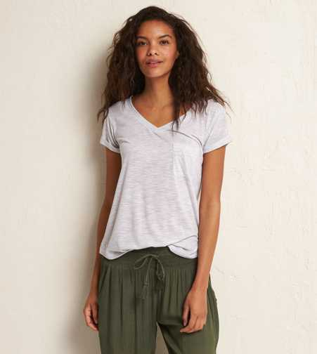 Aerie Striped Real Soft® Tee  - Buy One Get One 50% Off