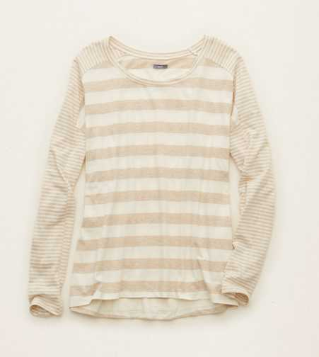 Aerie Striped Long Sleeve T-Shirt