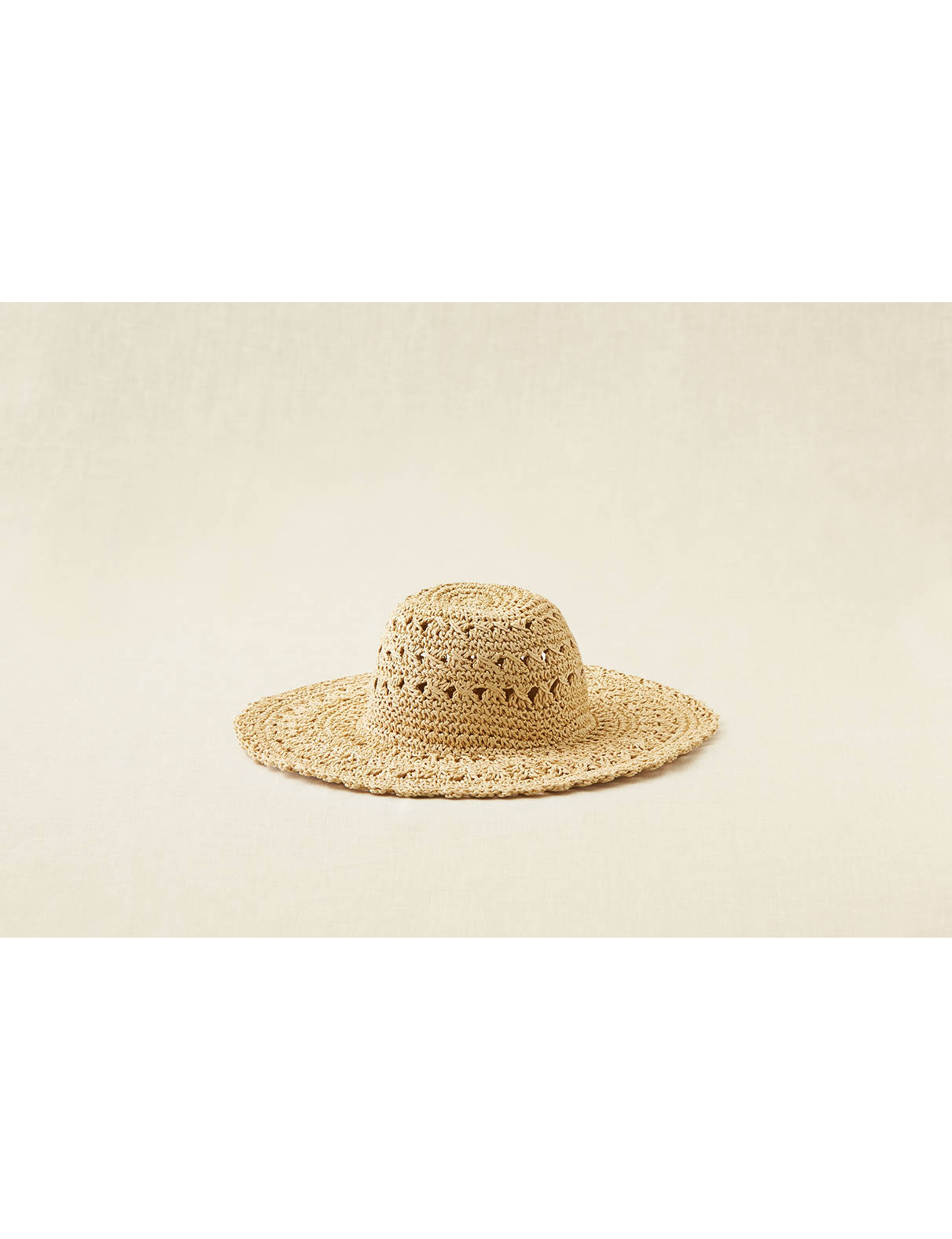 Display product reviews for Aerie Crochet Floppy Hat