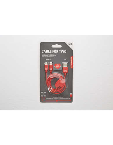 Kikkerland® Cable for Two  -