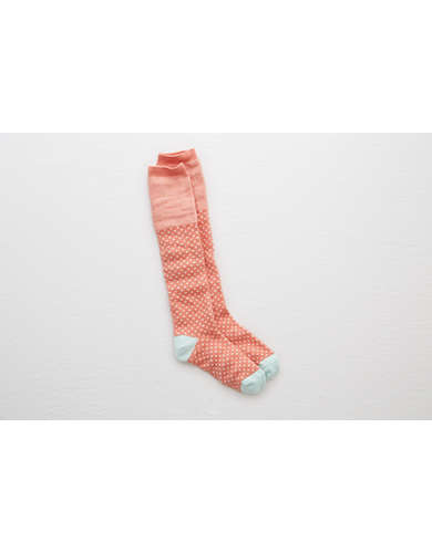 Aerie Stripe & Jaquard Knee Socks  -