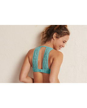 Harper Lace Back Pushup Bra