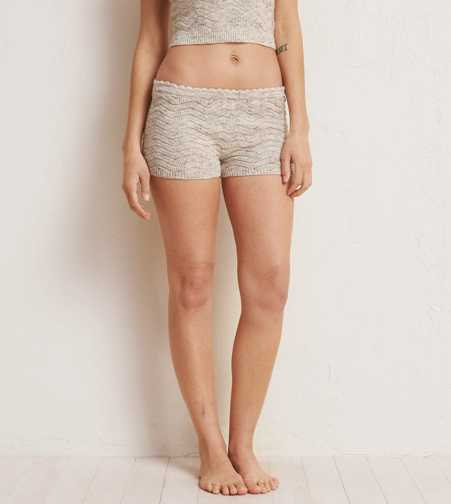 Aerie Light Sweater Sleep Shorts  - Buy One Get One 50% Off