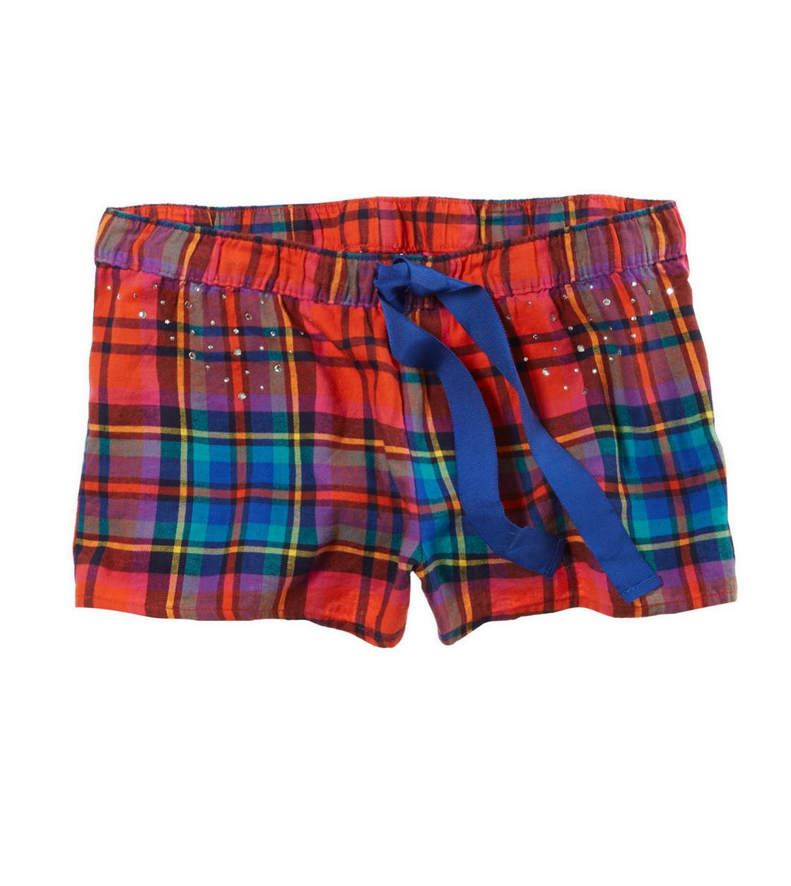 Red Aerie Flannel Girly Boxer