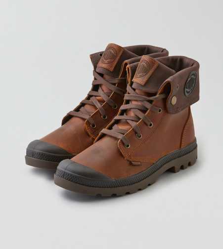Palladium Baggy Leather Boot  - Free Shipping